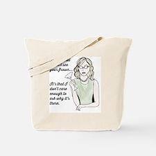 Cute Supergirl Tote Bag
