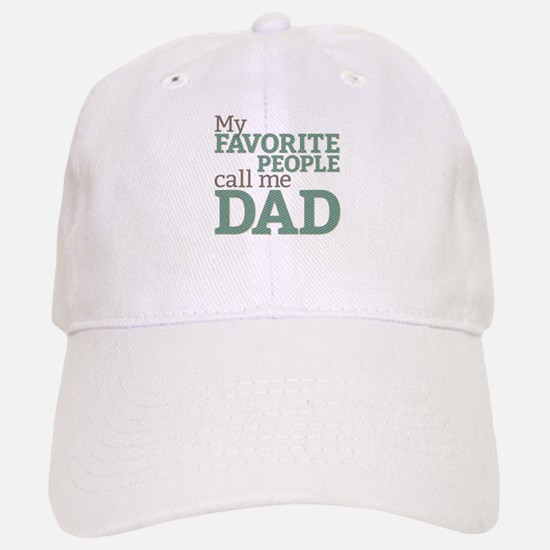 Call Me Dad Baseball Baseball Cap