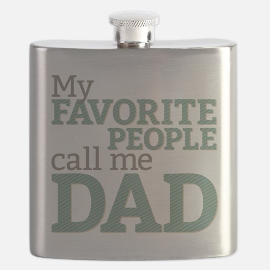 Call Me Dad Flask