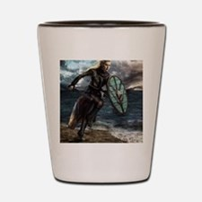 Cute Vikings Shot Glass