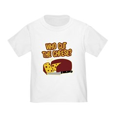 Cut The Cheese Toddler T-Shirt