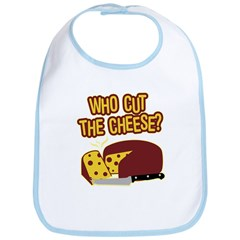 Cut The Cheese Bib