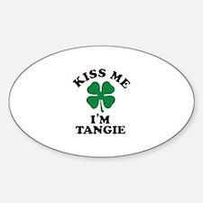 Kiss me I'm TANGIE Decal