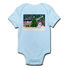 Xmas Magic & Eskimo Spitz Infant Bodysuit