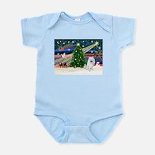 Xmas Magic & Eskimo Spitz Infant Bodysuit