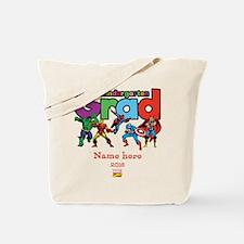 Marvel Kindergarten Grad Personalized Tote Bag