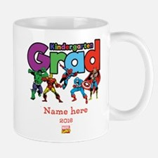 Marvel Kindergarten Grad Personalized Mug