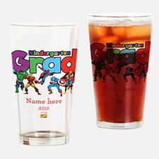 Marvel Kindergarten Grad Personaliz Drinking Glass