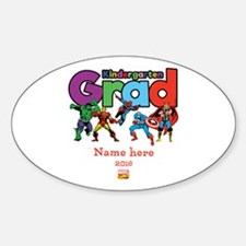 Marvel Kindergarten Grad Personaliz Decal