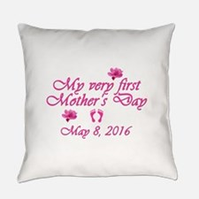 First Mother's Day 2016 Everyday Pillow