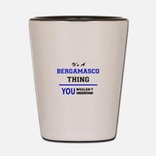 It's a BERGAMASCO thing, you wouldn't u Shot Glass