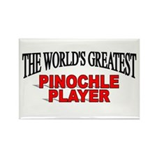 """The World's Greatest Pinochle Player"" Rectangle M"