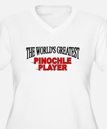 """The World's Greatest Pinochle Player"" T-Shirt"
