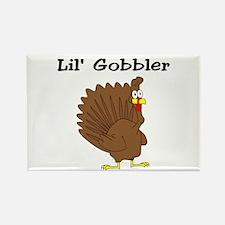 Lil' Gobbler Rectangle Magnet (10 pack)