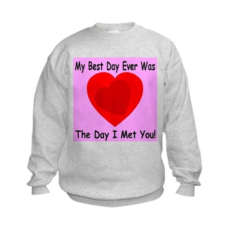My Best Day Every Kids Sweatshirt
