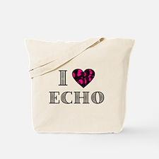 I LubDub Echo Hot Pink Tote Bag