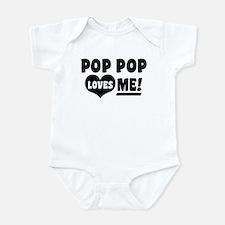 Pop Pop Loves Me Infant Bodysuit