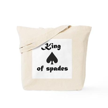 King of spades Tote Bag