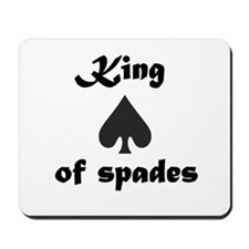King of spades Mousepad