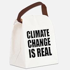 Cute Environment Canvas Lunch Bag