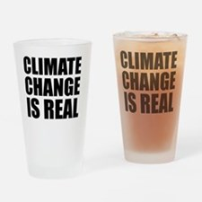 Funny Climate change Drinking Glass
