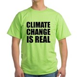 Climate change Green T-Shirt