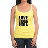 Love trumps hate Tanks/Sleeveless