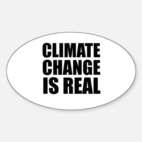 Climate Change is Real Decal