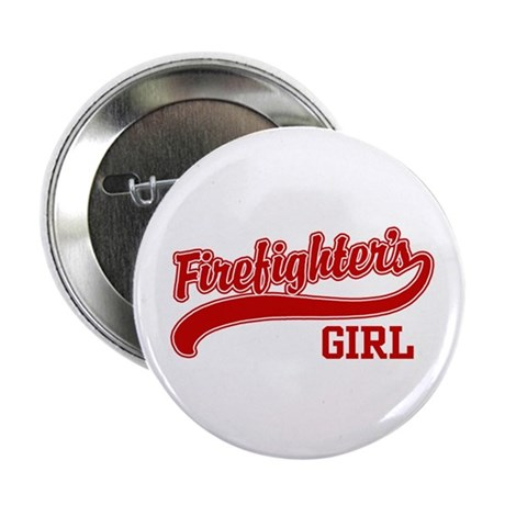 Firefighter's Girl Button