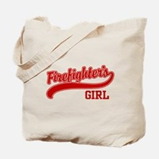 Firefighter's Girl Tote Bag