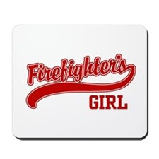 Firefighter's Girl Mousepad