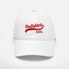 Firefighter's Girl Baseball Baseball Cap