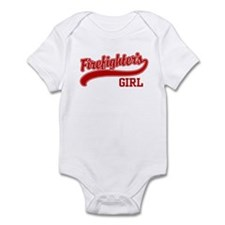 Firefighter's Girl Infant Bodysuit