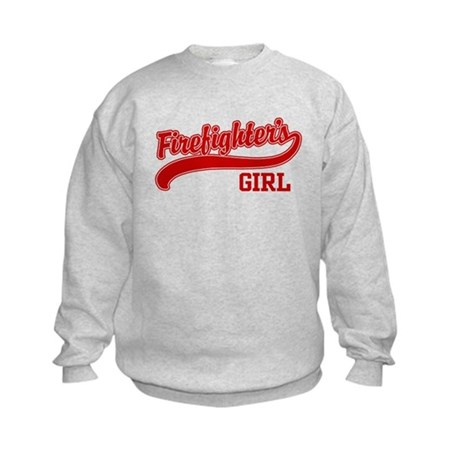 Firefighter's Girl Kids Sweatshirt
