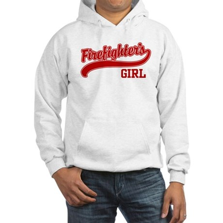 Firefighter's Girl Hooded Sweatshirt