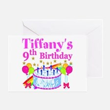 PERSONALIZED 9TH Greeting Card