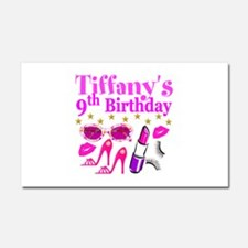 PERSONALIZED 9TH Car Magnet 20 x 12