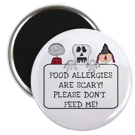 Halloween Food Allergies Magnet