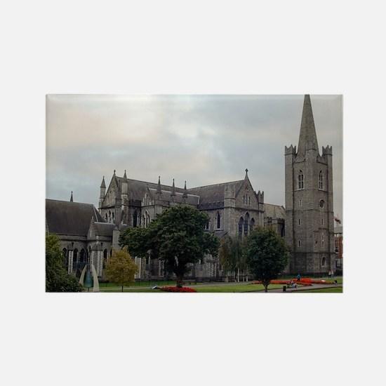 St. Patricks Cahtedral (Rectangle Magnet)