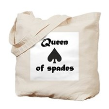 Queen of Spades Tote Bag