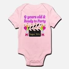 9TH BIRTHDAY Onesie