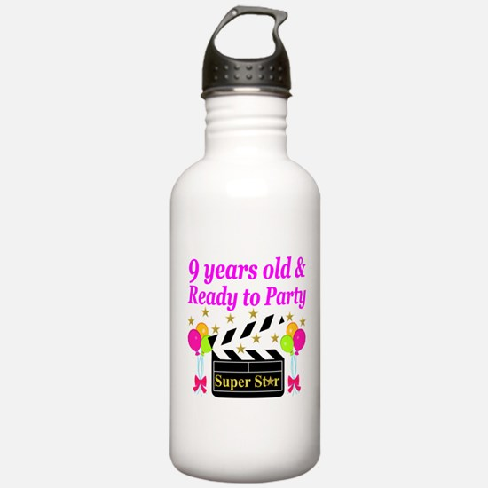 9TH BIRTHDAY Water Bottle