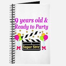 9TH BIRTHDAY Journal