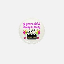 9TH BIRTHDAY Mini Button (10 pack)