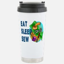 Eat Sleep Sew Travel Mug
