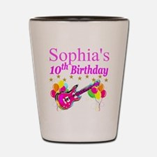 PERSONALIZED 10TH Shot Glass