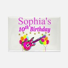 PERSONALIZED 10TH Rectangle Magnet