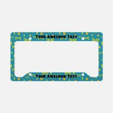 Your Awesome Text Beach License Plate Holder