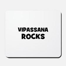 Vipassana Rocks Mousepad