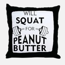 Unique Funny bodybuilding Throw Pillow